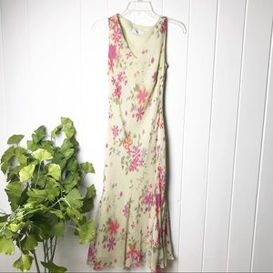 Chadwicks Floral Fully Lined Dress